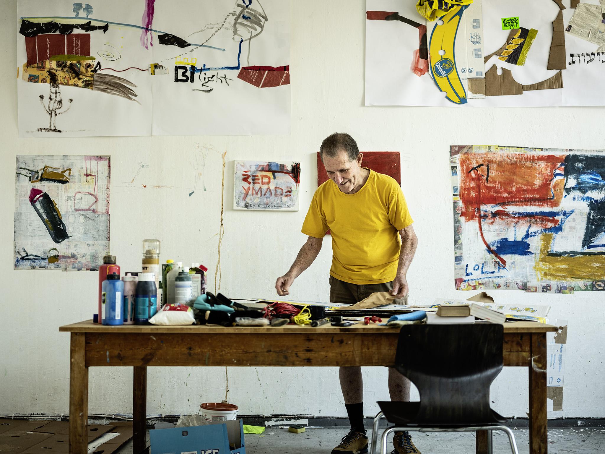 Rafi Münz bei Artists Unlimited